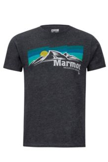 Sunsetter Marmot x Thread Tee, Charcoal Heather, medium