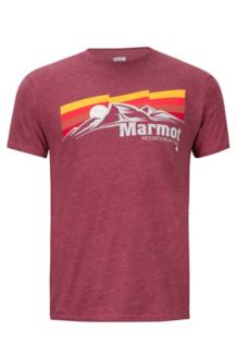 Sunsetter Marmot x Thread Tee, Burgundy Heather, medium