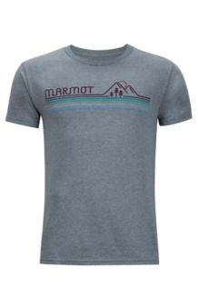Line Set Marmot x Thread Tee, Ash Heather, medium
