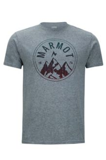 Perimeter Marmot x Thread Tee, Ash Heather, medium