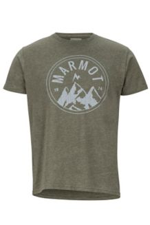 Perimeter Tee SS, Olive Heather, medium
