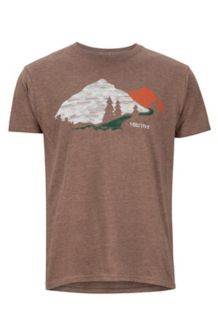 Tread Lightly Tee SS, Brown Heather, medium