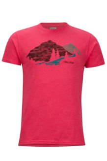 Tread Lightly Tee SS, Red Heather, medium