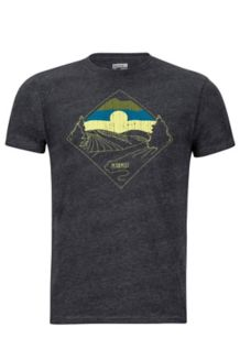Brume Marmot x Thread Tee, Charcoal Heather, medium