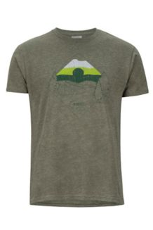 Brume Tee SS, Olive Heather, medium