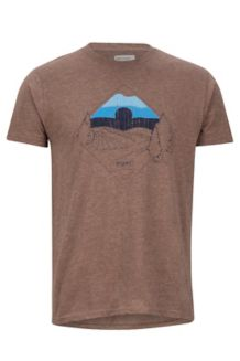 Brume Tee SS, Brown Heather, medium