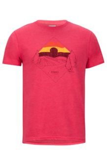 Brume Tee SS, Red Heather, medium