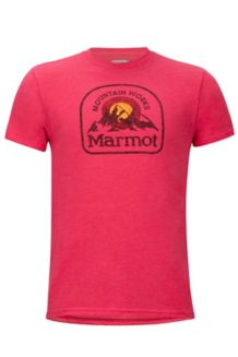 Altitude Marmot x Thread Tee, Red Heather, medium