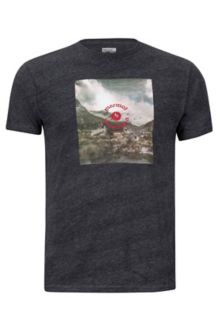 Trek Marmot x Thread Tee, Charcoal Heather, medium