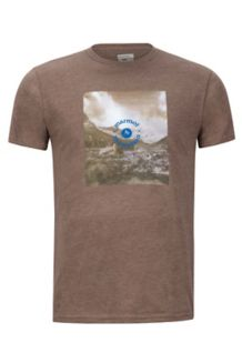 Trek Marmot x Thread Tee, Brown Heather, medium