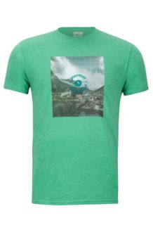 Trek Marmot x Thread Tee, Green Heather, medium