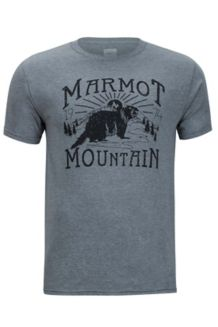 Sunrise Marmot x Thread Tee, Ash Heather, medium