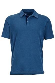Wallace Polo SS Shirt, Vintage Navy Heather, medium