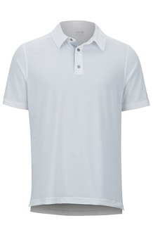 Wallace Polo SS Shirt, White Heather, medium