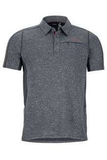 Drake Polo SS Shirt, Slate Grey, medium