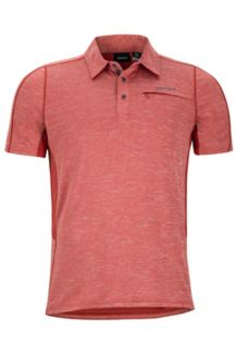 Drake Polo SS, Auburn, medium