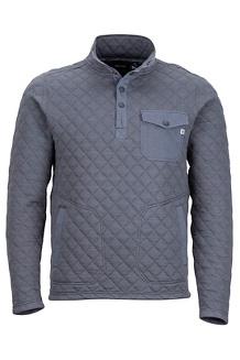 Cardiff LS Shirt, Steel Onyx, medium