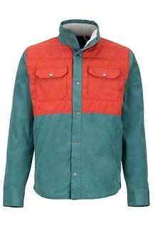 Weslo Jacket, Mallard Green/Dark Rust, medium