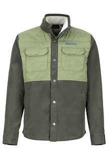 Weslo Jacket, Rosin Green/Bomber Green, medium