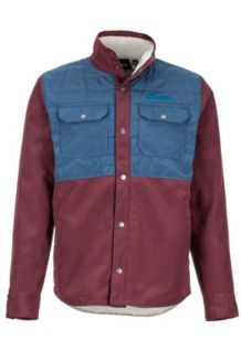 Weslo Jacket, Burgundy/Vintage Navy, medium