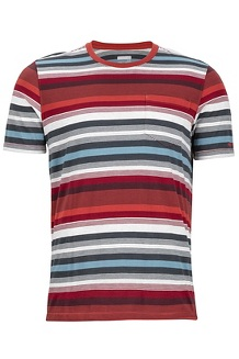 Red Rock SS Shirt, Retro Red, medium