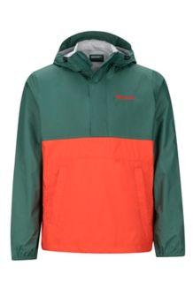 PreCip Anorak, Mallard Green/Mars Orange, medium