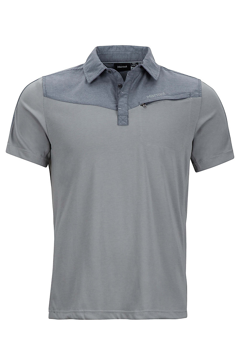 Gulch Polo SS, Grey Storm/Steel Onyx Heather, large
