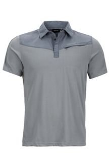 Gulch Polo SS, Grey Storm/Steel Onyx Heather, medium