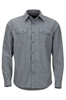 Emerson LS Shirt, Slate Grey Heather, medium