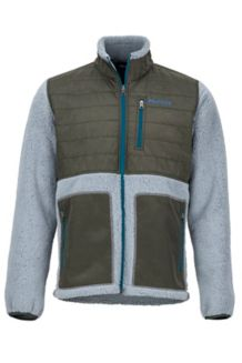 Mesa Jacket, Grey Storm/Rosin Green, medium