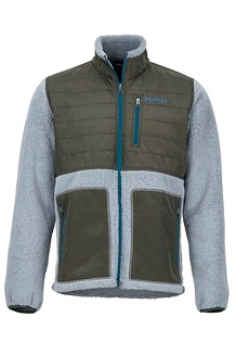Mesa Jacket, Grey Storm/Rosin Green, medium