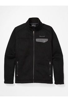 Men's Poacher Pile Jacket, Black, medium