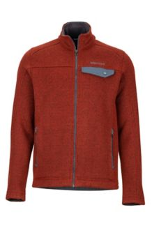Poacher Pile Jacket, Dark Rust Heather, medium