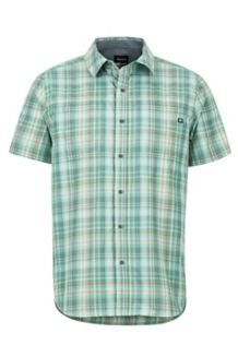 Highpark SS Shirt, Pond Green, medium