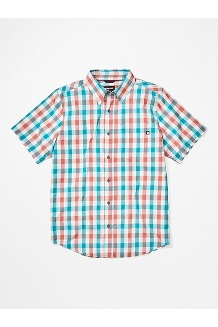 Kingswest SS Shirt, Enamel Blue, medium