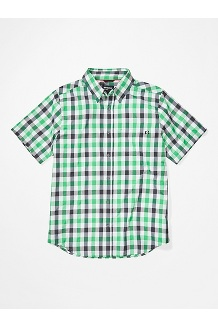 Kingswest SS Shirt, Kelly Green, medium