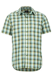 Kingswest SS Shirt, Pond Green, medium