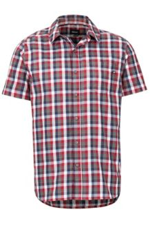 Kingswest SS Shirt, Sienna Red, medium