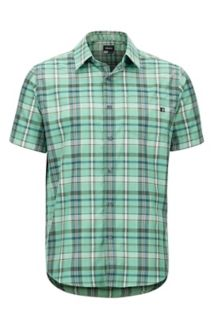 Lykken SS Shirt, Pond Green, medium