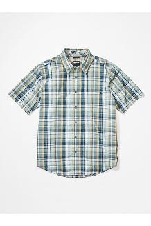 Men's Lykken Short-Sleeve Shirt, Crushed Mint, medium