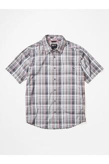 Men's Lykken Short-Sleeve Shirt, Sleet, medium