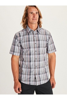 Men's Lykken Short-Sleeve Shirt, Solar, medium