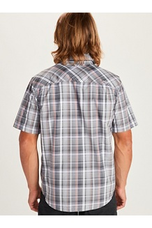Men's Lykken Short-Sleeve Shirt, Sleet, medium