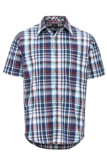 Men's Lykken Short-Sleeve Shirt, Fig, medium