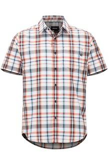 Men's Lykken Short-Sleeve Shirt, Desert Red, medium