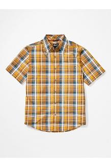 Men's Lykken Short-Sleeve Shirt, Solar, medium