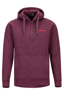 Galen Pullover, Burgundy, medium