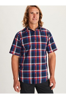 Meeker SS Shirt, Arctic Navy, medium