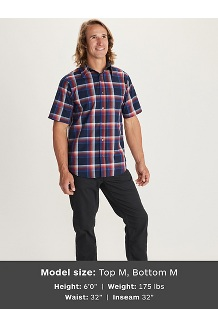 Meeker SS Shirt, Dark Steel, medium