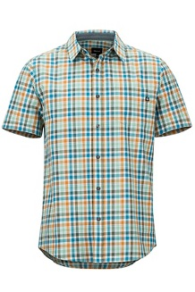 Meeker SS Shirt, Pond Green, medium